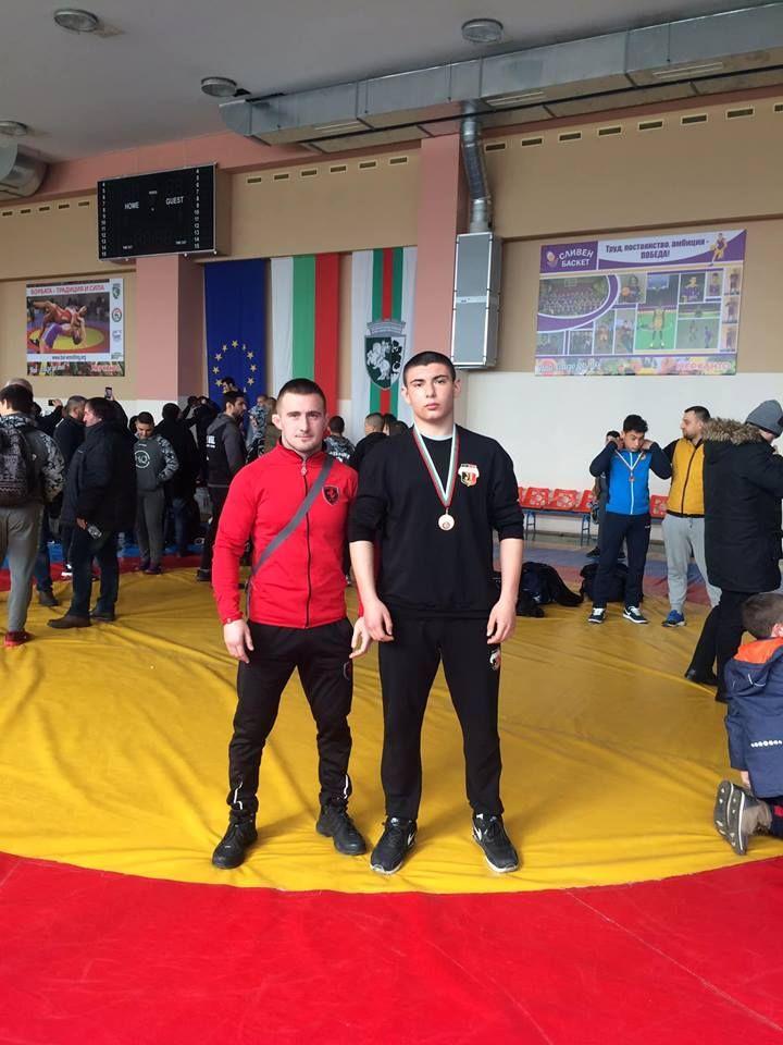 Александър Грибков и Георги Станков в Сливен - СУ Васил Левски - Пловдив