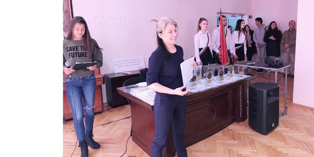 Отличиха най-добрите състезатели на Спортното по повод патронния празник - СУ Васил Левски - Пловдив
