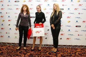 Лиляна Георгиева бе наградена като Любимец на феновете на списание Атлетика - СУ Васил Левски - Пловдив