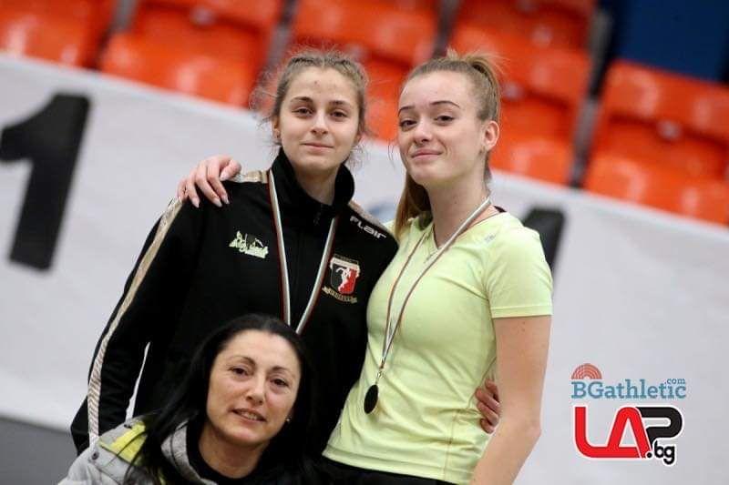 Емилия Кичукова троен скок 11,44 м - СУ Васил Левски - Пловдив