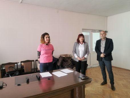 Ден на розовата фланелка - световен ден за борба с тормоза в училище - СУ Васил Левски - Пловдив