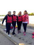 И все пак учителите от спортното влезнаха в лодките на учениците си...... - малка снимка