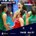 Българският национален отбор за девойки под 16 години се класира за ЕвроВолей 2021 година  - малка снимка