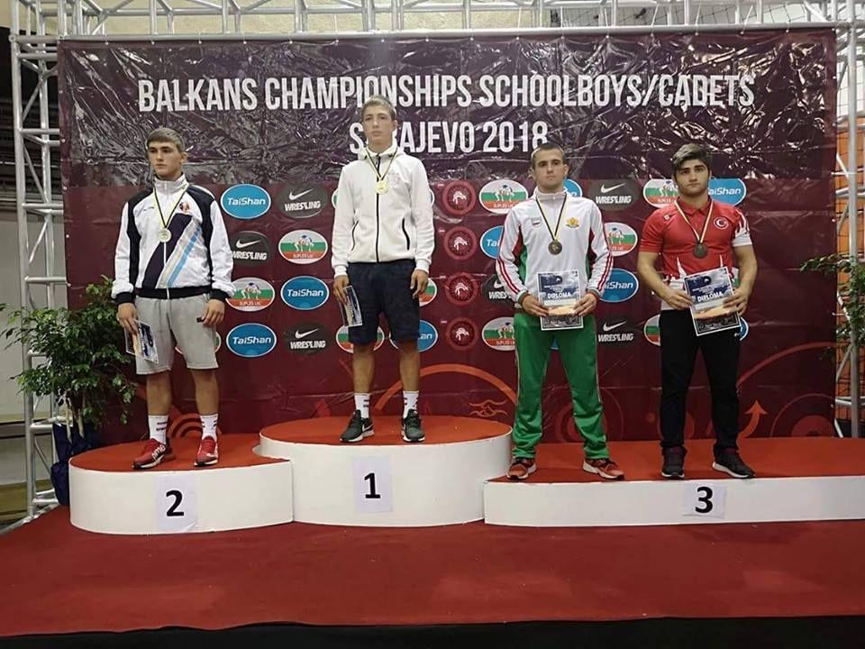 Бронзов медал извоюва Ивайло Иванов -класическа борба - СУ Васил Левски - Пловдив