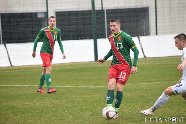 Архан Исуф с пълни 90 минути за България U19 в контролата с Косово U19 - СУ Васил Левски - Пловдив