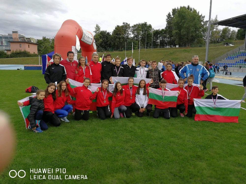 България спечели и титли от Европейските игри - СУ Васил Левски - Пловдив
