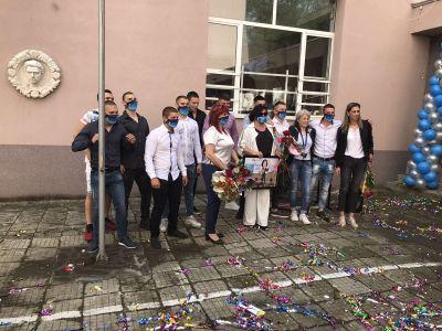 Изпращане на випуск 2019/2020 г. - СУ Васил Левски - Пловдив